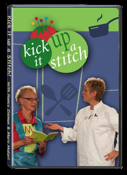 DVD KickItUpAStitch