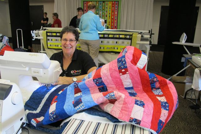 Quilt to Give Nancy Zieman