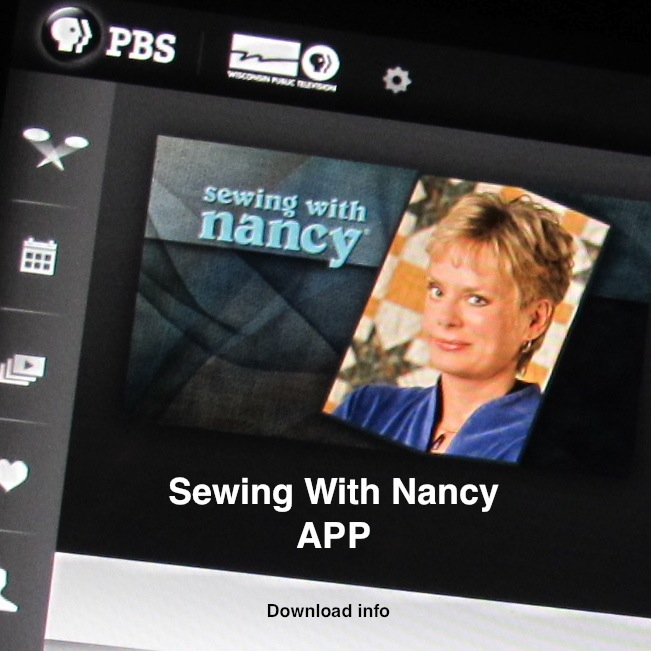 sewing with nancy app