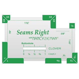 Seams Right sewing notion Nancy Zieman