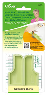 6-in-1 Stick 'N Stitch Seam Guide Nancy Zieman