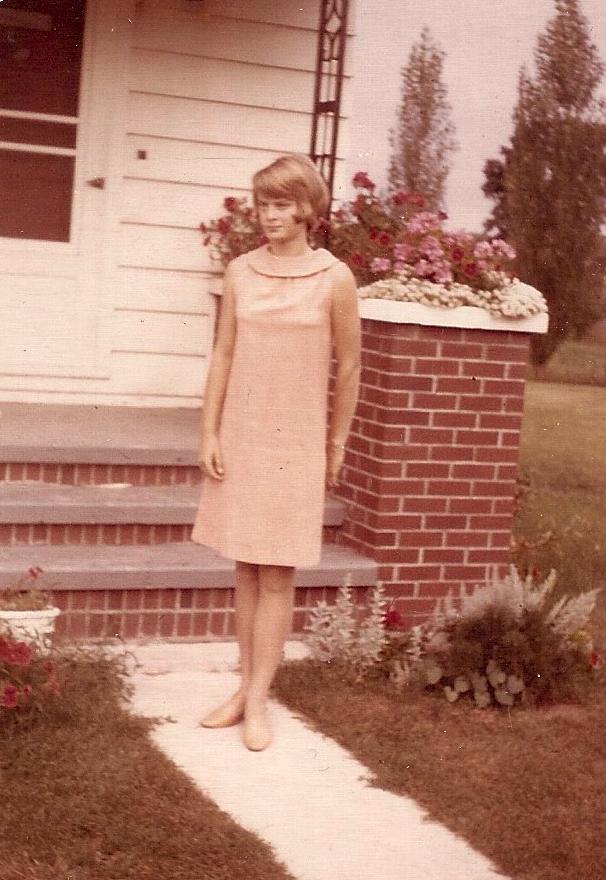 Nancy Zieman 4-H Dress '69