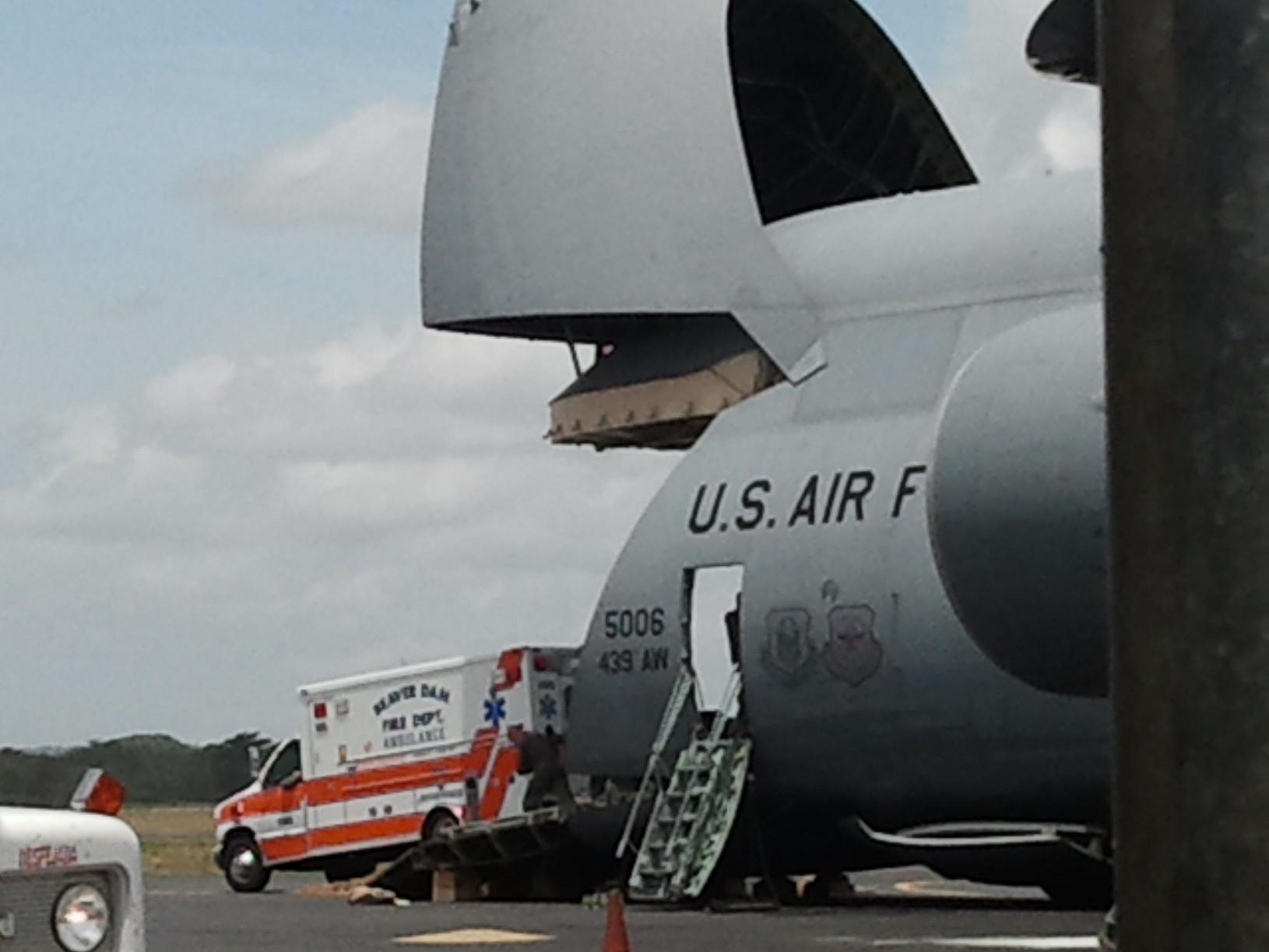 Wisconsin Nicaragua Partners and Beaver Dam Wisconsin ambulance