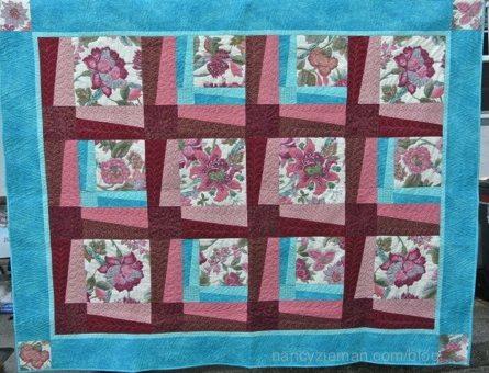 BQ3 Quilt Block pattern sewn by Kit Ritter featured on Nancy Zieman's Blog