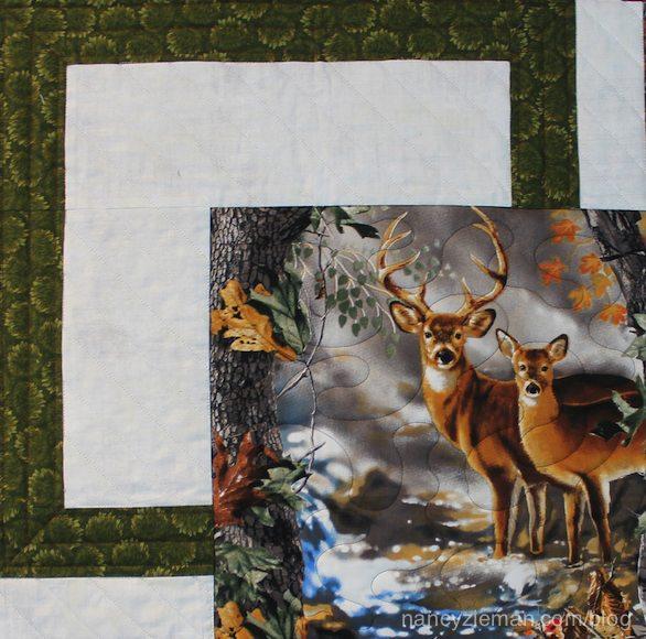 BQ Quilt Block pattern sewn by Sharen Dahlke featured on Nancy Zieman's Blog