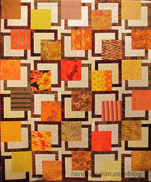 Sew Big Block Quilts on Sewing With Nancy Zieman and Debbie Bowles