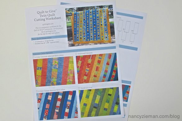 Quilt to GIve, how to make an easy twin-sized quilt