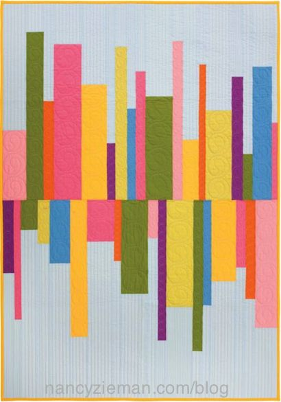 Quick Column Quilts Book by Nancy Zieman as seen on Sewing With Nancy TV s