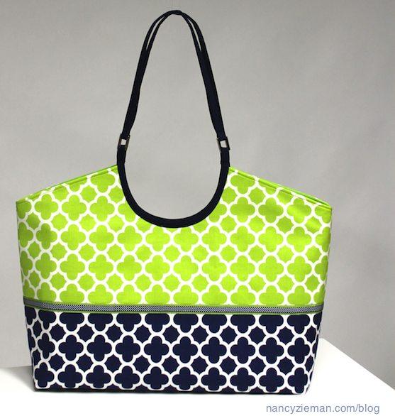 How to sew handbags by Nancy Zieman