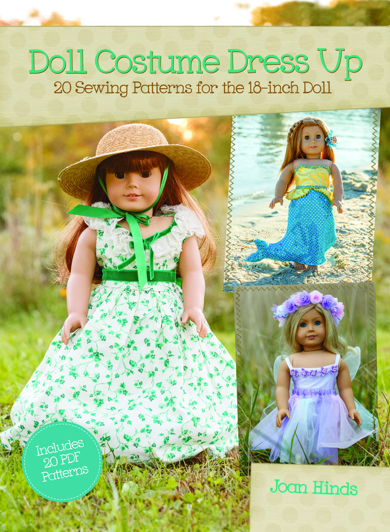 Doll Costume Dress Up. How to sew doll clothes and costumes. As seen on Sewing With Nancy Zieman