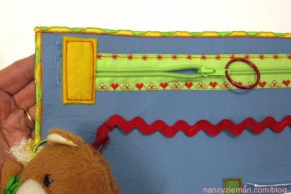 Sew an Alzheimer's Activity Mat as seen on Sewing With Nancy Zieman