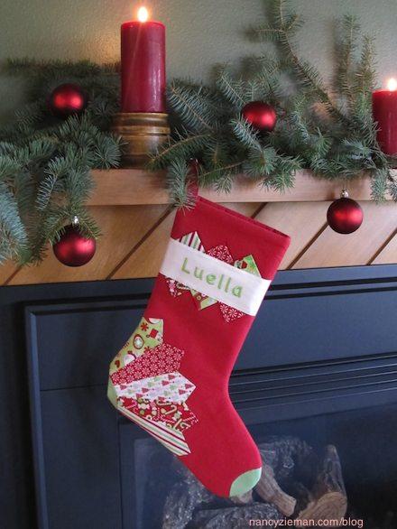 Nancy Zieman's Webcast NOvember 22, 2014 how to sew a Christmas Stocking