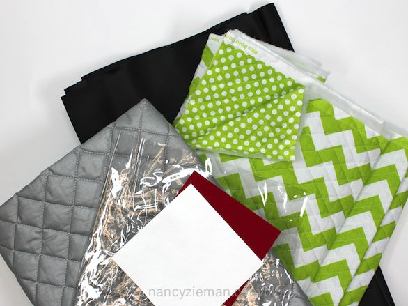 Nancy Zieman Live Webcast Ideas on How to Sew Quick Gifts from Unique Fabrics