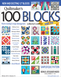 Quiltmaker's 100 Blocks Vol. 10