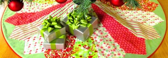How to Sew a Christmas Tree Skirt with Nancy Zieman of TV's Sewing With Nancy