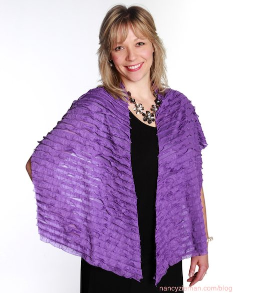 All Occasion Fabric Wraps by Mary Mulari as seen on Sewing With Nancy Zieman