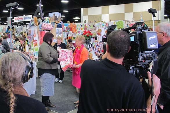 Sewing With Nancy Zieman/Sewing & Stitchery Expo/ Puyallup WA