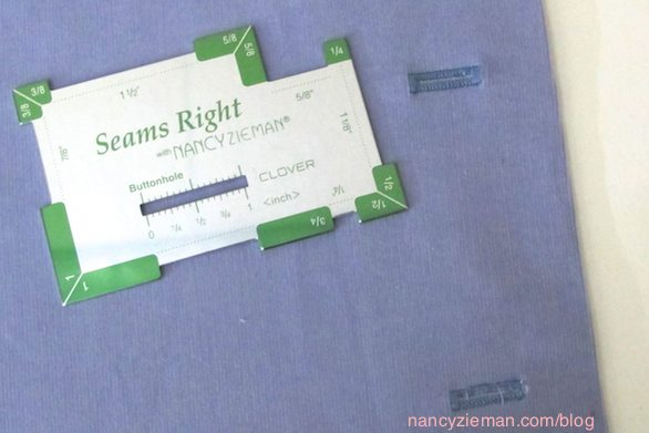 Seams Right sewing notion by Nancy Zieman