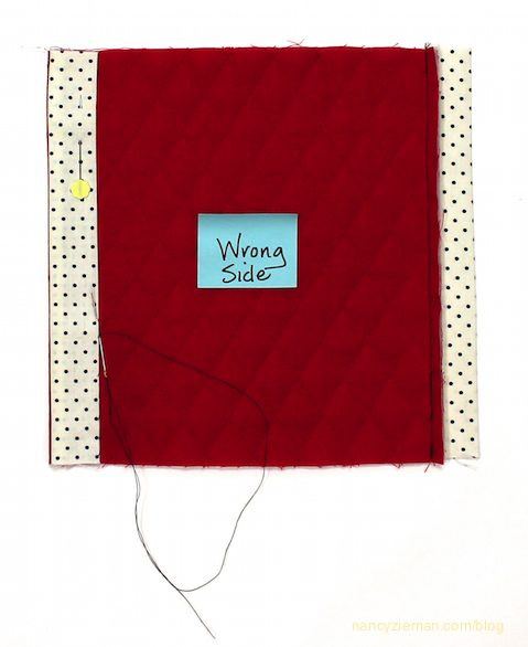 Hidden Quilt Binding Tutorial by Nancy Zieman