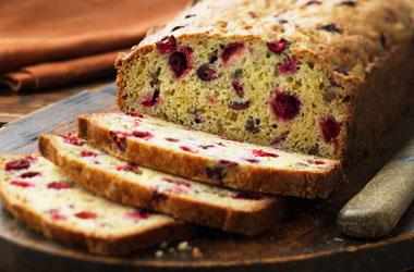 Ocean Spray Cranberry Bread as seen on Nancy Zieman's Blog