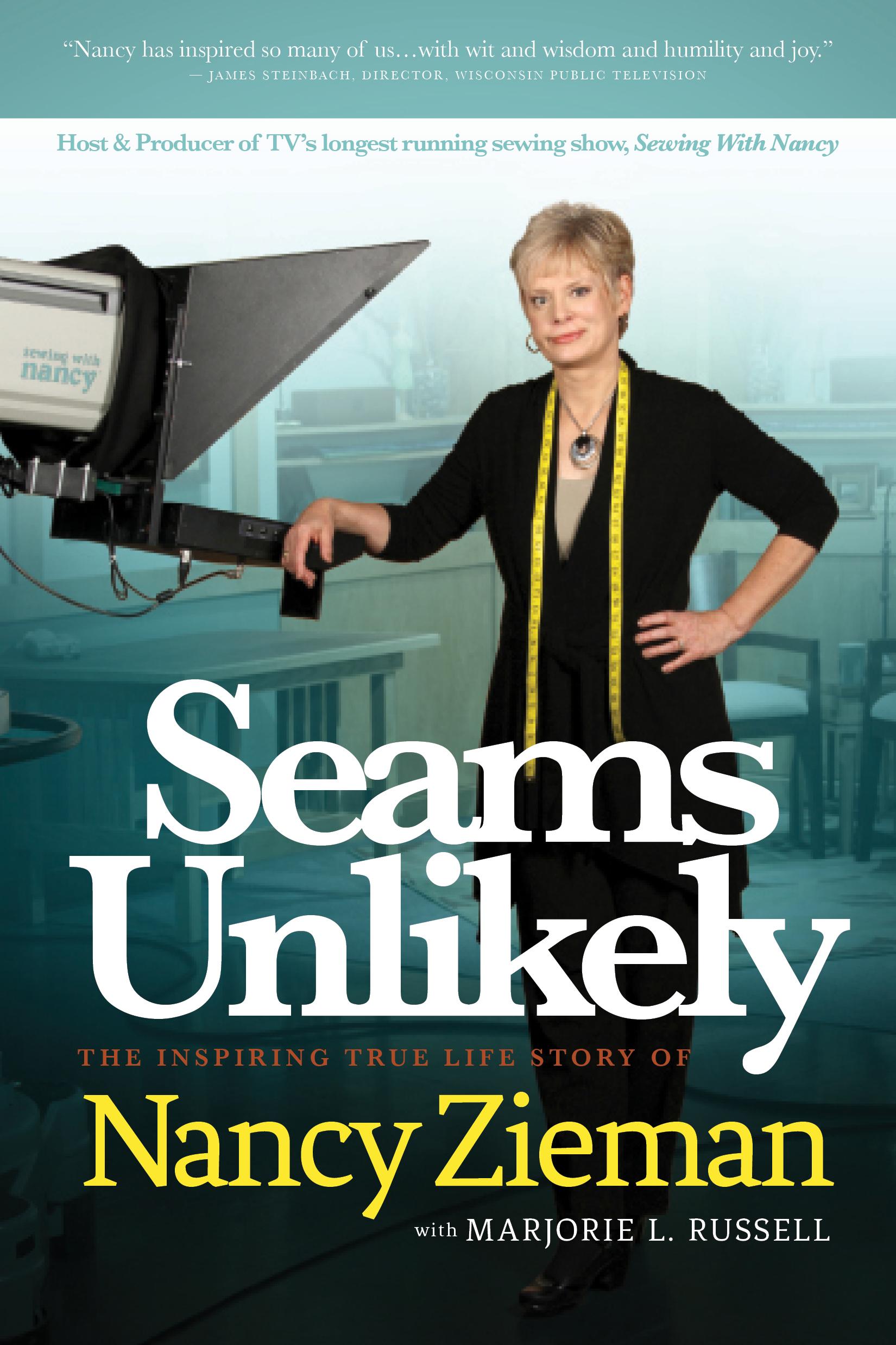 Seams Unlikely by Nancy zieman/Seams Unlikely book club questions