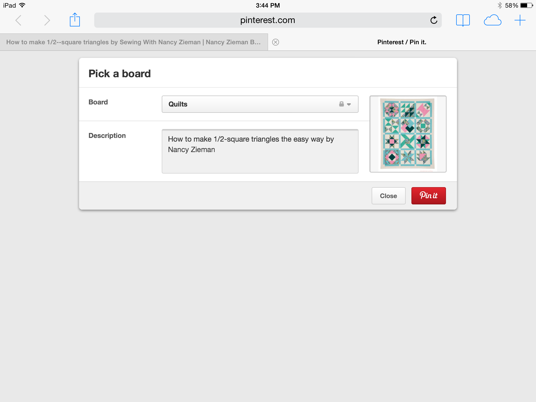 How To Pin a Photo to Pinterest