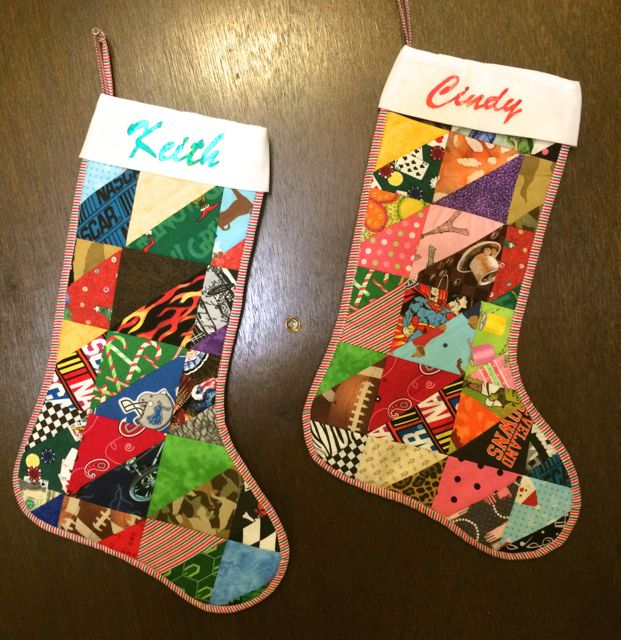 03 Cynthia C Patchwork Christmas Stocking for Nancy Zieman Blog
