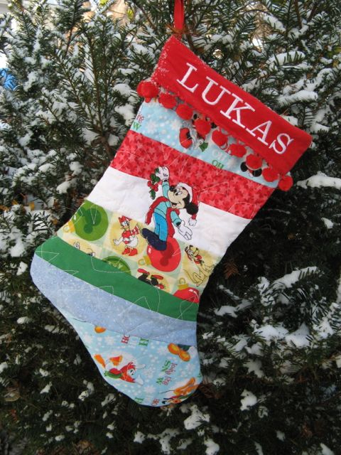 05 Sandy's Patchwork Stocking for Nancy Zieman Blog