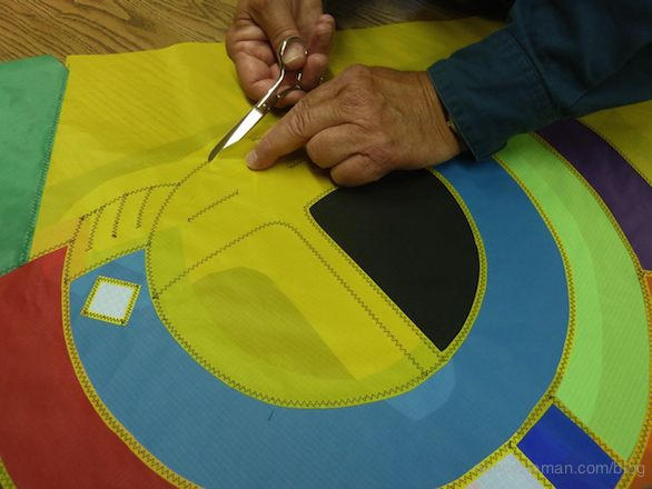 How to sew kites with Paul Fieber as seen on Sewing With Nancy Zieman