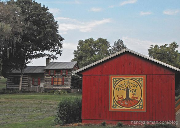 Barn Quilts by Suzi Parron as seen on Sewing With Nancy Zieman