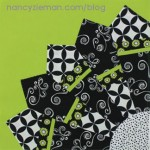 Block of the Month Quilt by Nancy Zieman/Dresden Fan Quilt Block