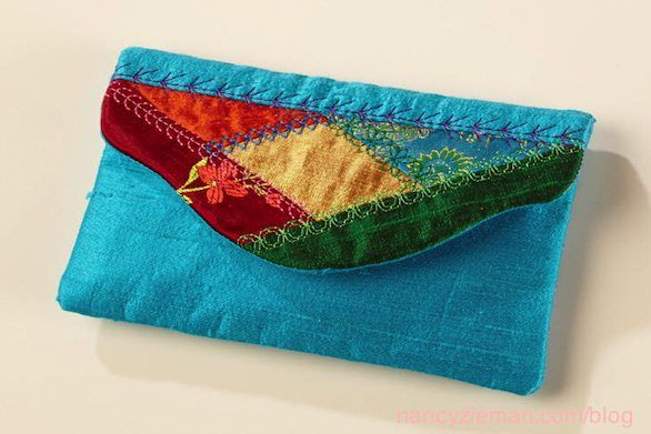 Today's Crazy Quilting with Your Embroidery Machine/Sewing With Nancy/Nancy Zieman/Eileen Roche