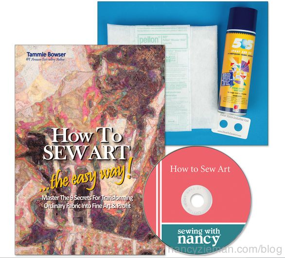 How to Sew Art Quilts on Sewing With Nancy with Nancy Zieman