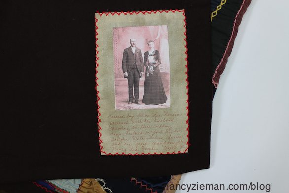 Today's Crazy Quilting with your Embroidery Machine as seen on Sewing With Nancy Zieman