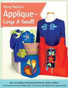 Mary Mulari Applique Large and Small as seen on sewing With Nancy