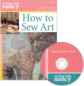 How to Sew Art by Tammie Bowser and Sewing With Nancy Zieman