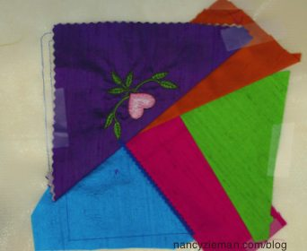 Today's Crazy Quilting with Your Embroidery Machine as seen on Sewing With Nancy Zieman and Eileen Roche