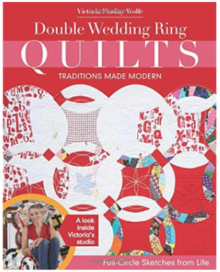 Double Wedding Ring Quilts by Victoria Findlay Wolfe as seen on Sewing With Nancy