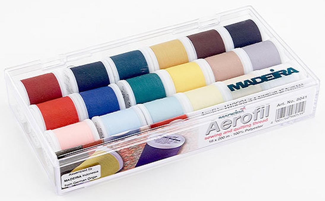 Madeira Aerofil 18-count Thread Pack
