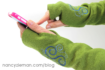 Stay Warm with Nancy Zieman's Texting Gloves