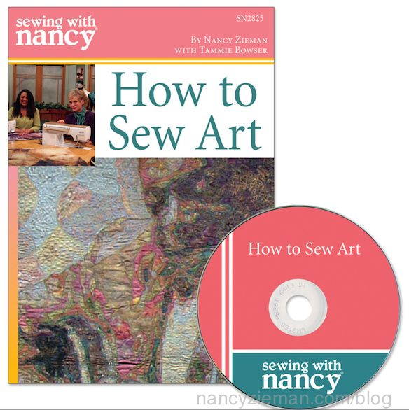 How to Sew Art DVD by Nancy Zieman and Tammie Bowser