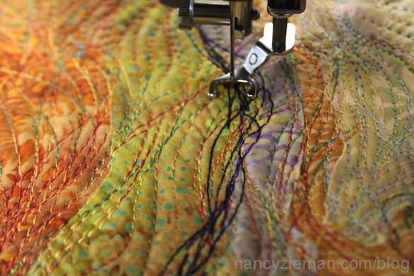 How to Sew Art Part Two on Sewing With Nancy with Nancy Zieman and guest Tammie Bowser.