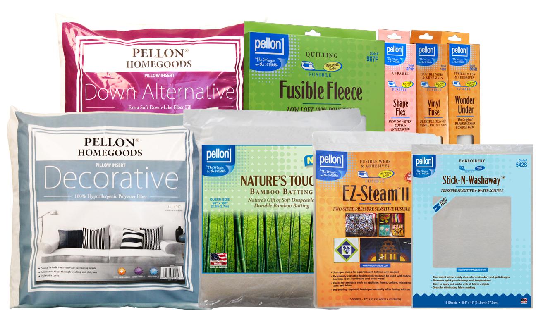 Pellon Prize Pack for Nancy Zieman's 2015 Pillow Challenge