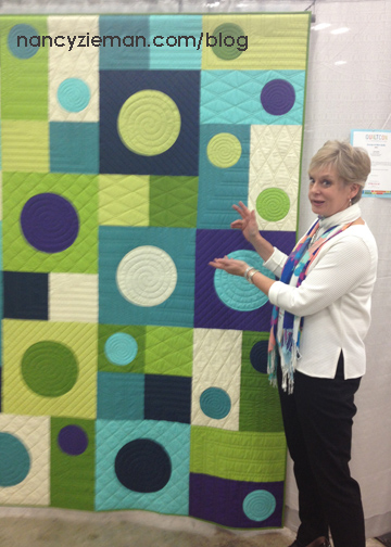 Nancy-Zieman-I-See-Spots-QuiltCon