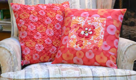 Seeing Double Fabric Magic Pocket Pillows/Nancy Zieman's Pillow Challenge