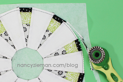 Nancy Zieman April Block of the Month | 2015 Adventure Quilt