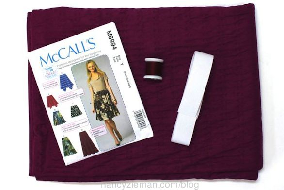 Nancy Zieman's Super Quick Circle Skirt Sewing Tips