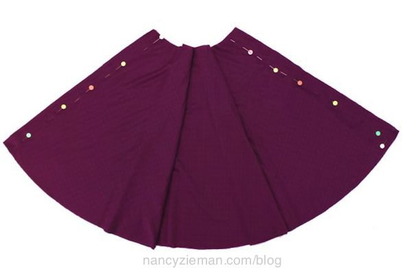 Nancy Zieman's Super-Quick Circle Skirt Sewing Tips and New Elastic Bodkins from Clover.