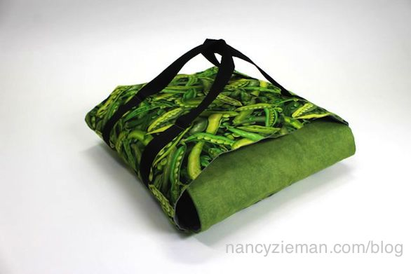 Nancy Zieman shows how to Sew an easy Potluck Carrier
