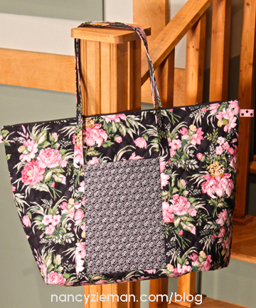 How To Modify an Insulated Grocery Tote | Nancy Zieman | Sewing With Nancy